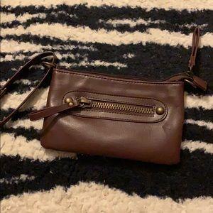 Handbags - Leather wristlet
